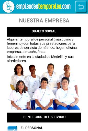 【免費商業App】Empleadas Temporales-APP點子