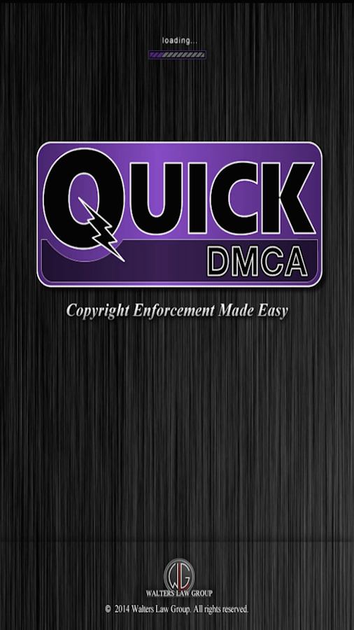 Quick DMCA- screenshot