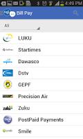 Screenshot of Tigo Pesa Tanzania