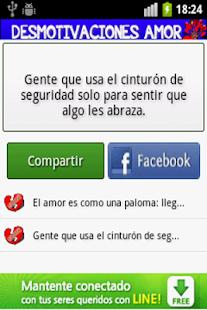 Desmotivaciones de Amor - screenshot thumbnail