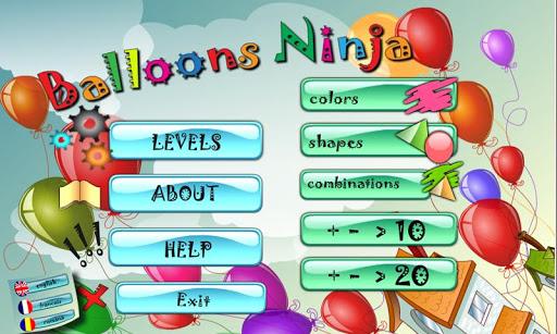 Balloons Ninja