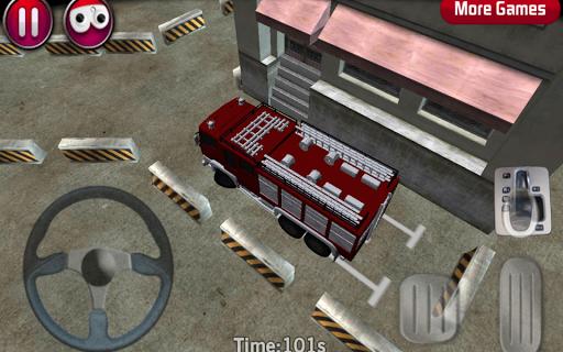 Fire Truck parking 3D 1.9 screenshots 2