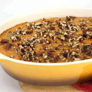 Zesty Sweet Potato Casserole with Andouille Sausage.