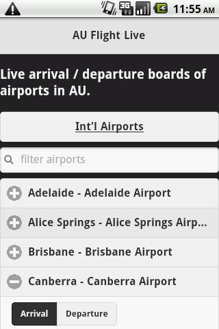 Australia Flight Info Live
