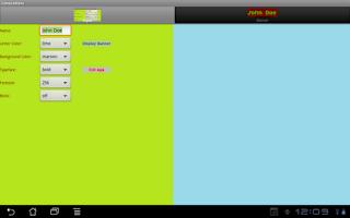 Screenshot of LimoLetters