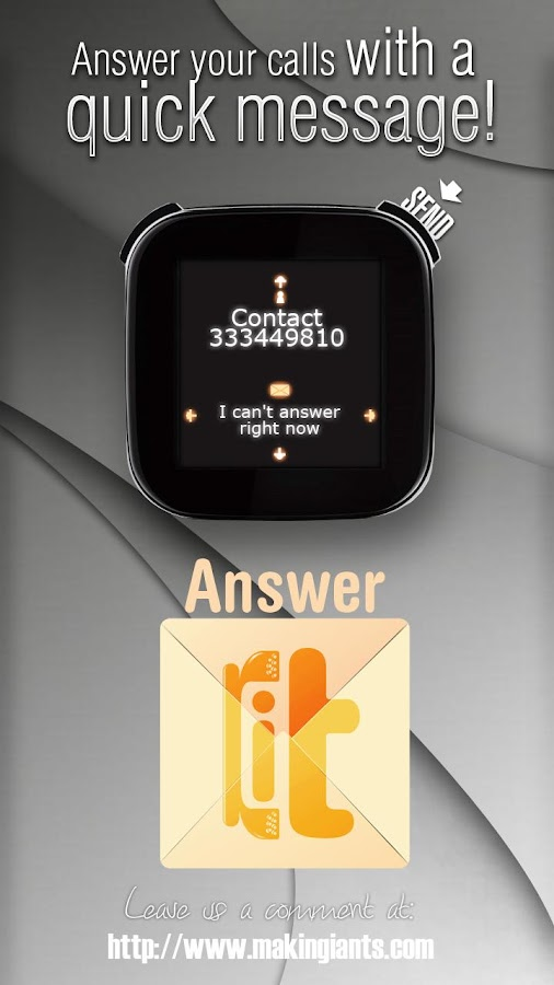 LiveView Answer-it SMS Free- screenshot