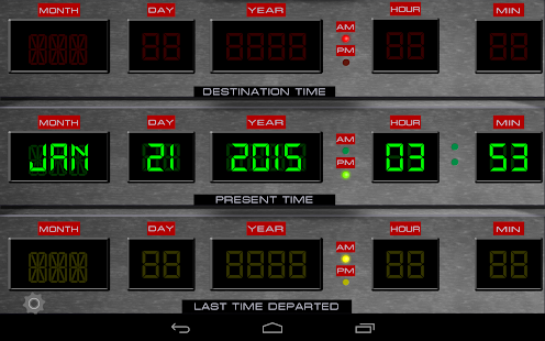 Time Circuits Dashboard Clock Apps On Google Play