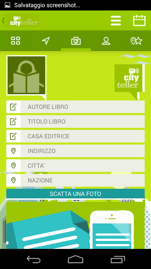 Cityteller. Città e libri- screenshot