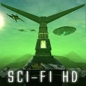 Sci Fi HD: 3D Live Wallpaper icon