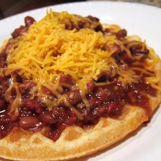 Cheddar Cornbread Waffles Recipe