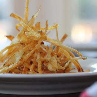 Shoestring Potato Fries (Baked)