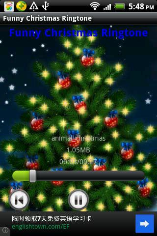 Funny Christmas Ringtone - screenshot