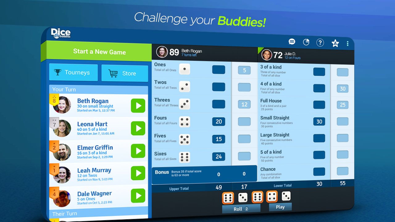 Dice With Buddies™ Free - screenshot