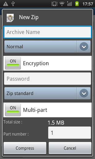Easy Unrar, Unzip & Zip 3.4 screenshots 6