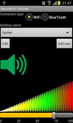 SounDroid remote sound contr.