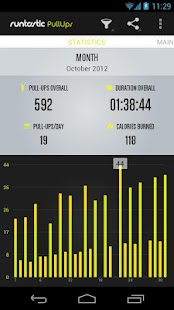 Runtastic Pull-ups Workout PRO - screenshot thumbnail