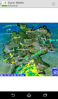 Screenshot of Bayer Agrar Wetter