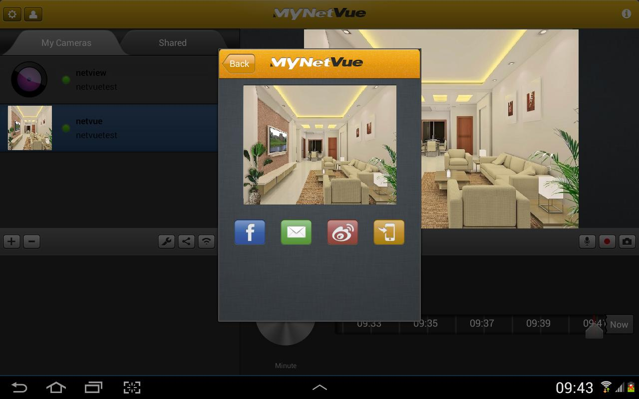 MyNetVue (for pad) - screenshot