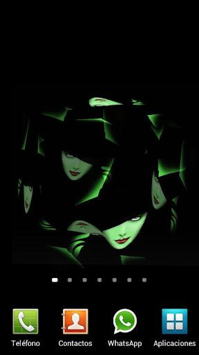 女巫图片3D动态壁纸