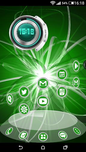 Round 3D Green: Next Theme