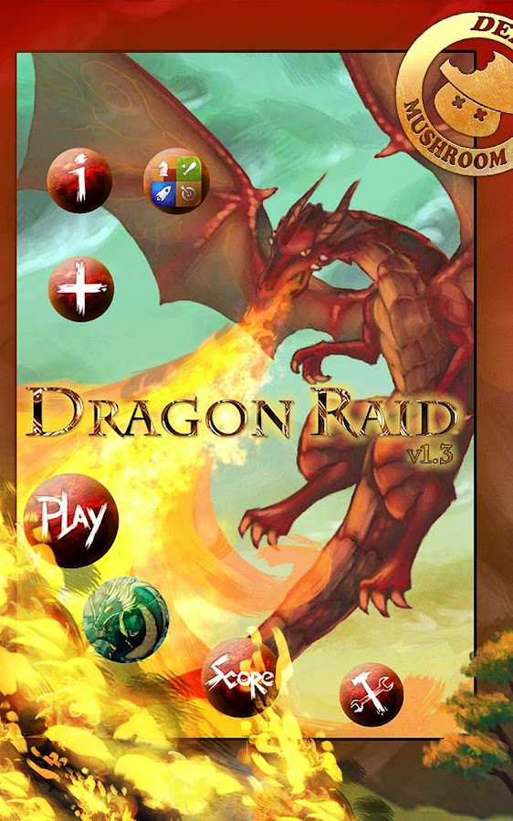 Dragon Raid FREE Game - screenshot