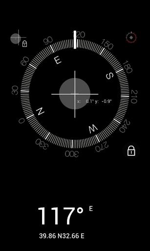 指南针 水平仪