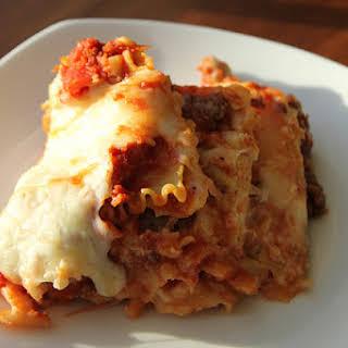 Crock-pot Lasagna.