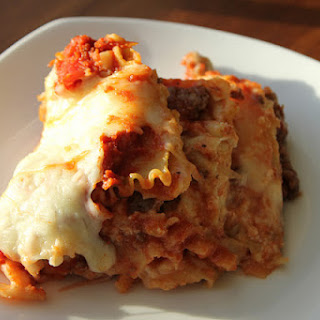 Crock-pot Lasagna.