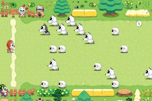 麻糬羊球: 打狼救羊