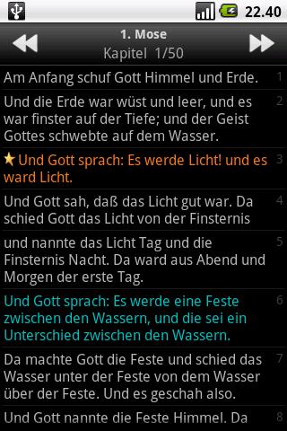Die Bibel, Luther (Holy Bible)- screenshot