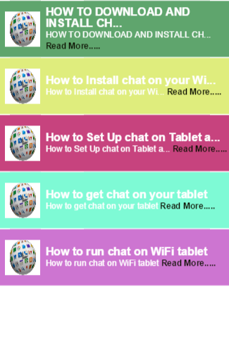 how to get chat app