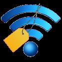 Wifi label icon