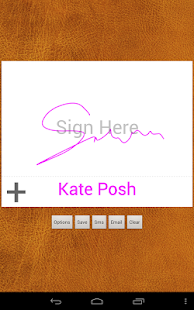 Digital Signature Creator– сличица снимка екрана