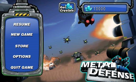 Metal Defense - screenshot thumbnail