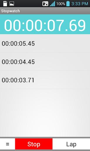 秒錶 工具 App-癮科技App