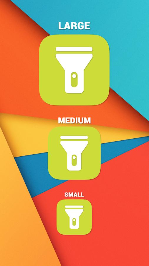 Flashlight WIDGET for lollipop APK Cracked Free Download