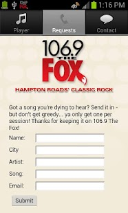 106.9 The Fox - screenshot thumbnail
