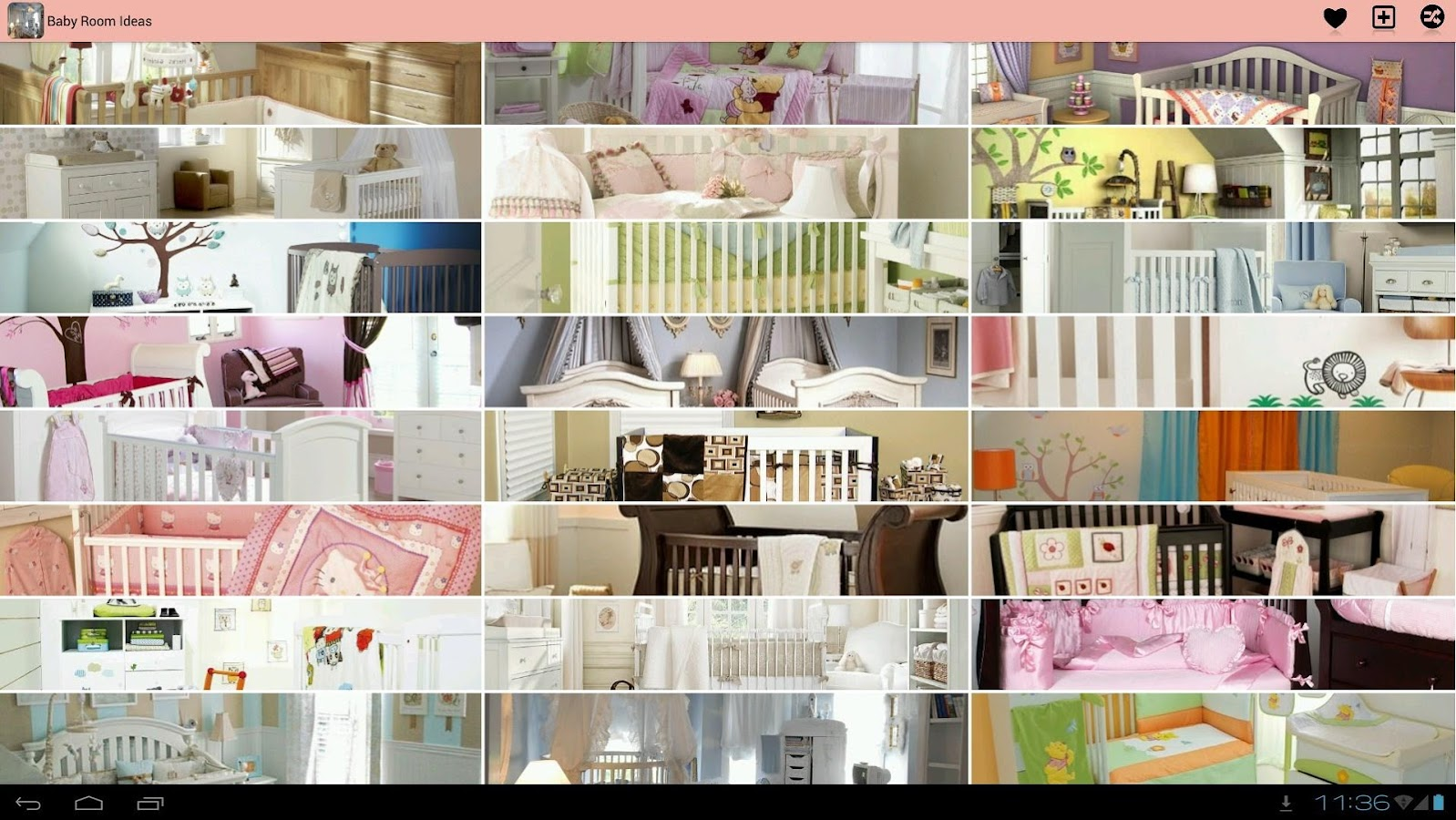 Baby room decor ideas android apps on google play for Room design ideas app