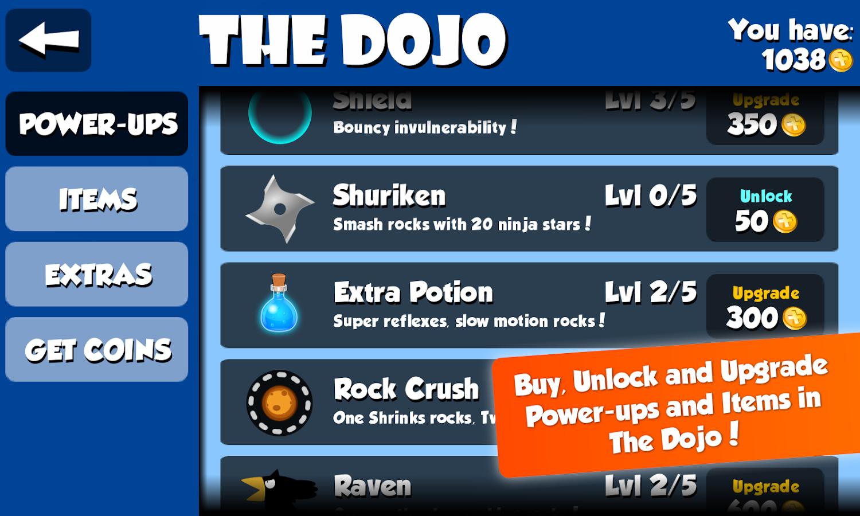 Rock Ninja- screenshot