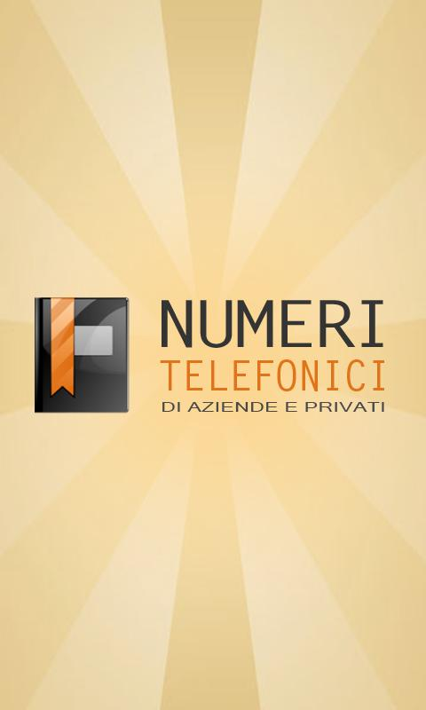 Numeri Telefonici - screenshot