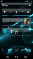 Screenshot of Crystal 2 CM10 Theme