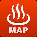全国日帰り温泉マップ for Android icon