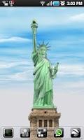 Screenshot of New York LWP Statue o Liberty