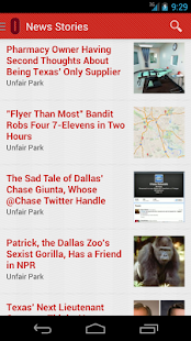 Dallas Observer- screenshot thumbnail
