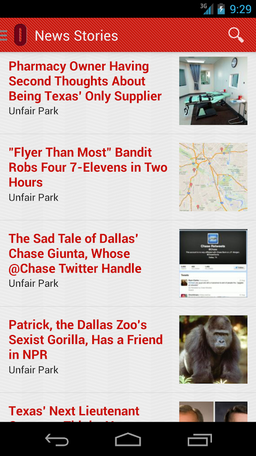 Dallas Observer - screenshot