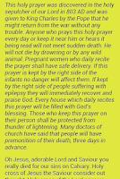 Screenshot of My Power Prayers