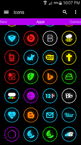 Neonex - Icon Pack v1.1