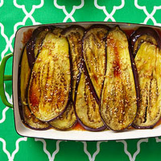 Sesame-Honey Eggplant