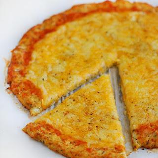 Low Carb Cauliflower Pizza Crust.