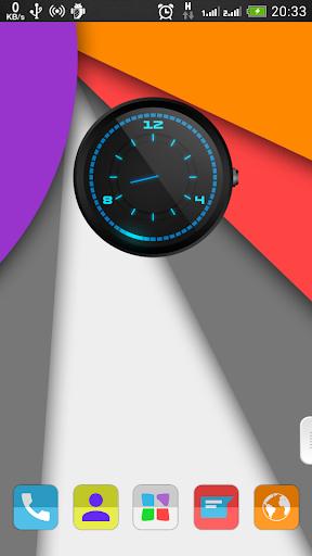 Daus Clock Widget